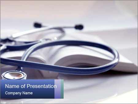 Stethoscop PowerPoint Template