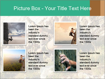 Climber PowerPoint Template - Slide 14