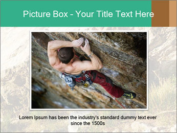 Climber PowerPoint Template - Slide 15