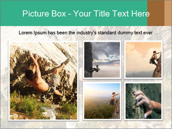 Climber PowerPoint Template - Slide 19