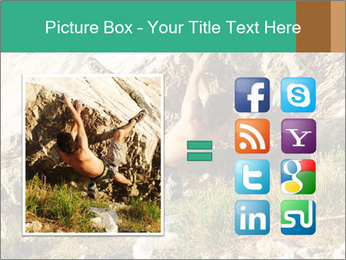 Climber PowerPoint Template - Slide 21