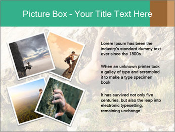 Climber PowerPoint Template - Slide 23