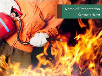 Fireman PowerPoint Templates - Slide 1