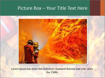 Fireman PowerPoint Template - Slide 15