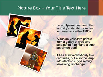 Fireman PowerPoint Template - Slide 17