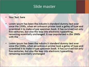 Fireman PowerPoint Template