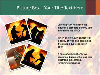 Fireman PowerPoint Template - Slide 23