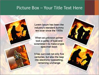 Fireman PowerPoint Template - Slide 24