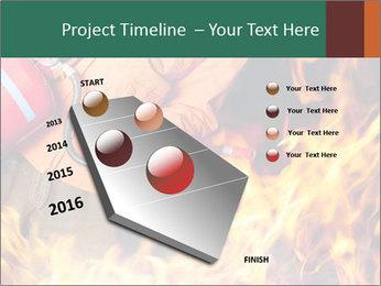 Fireman PowerPoint Template - Slide 26