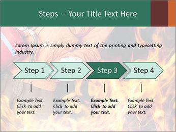 Fireman PowerPoint Template - Slide 4