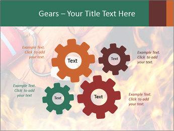 Fireman PowerPoint Template - Slide 47