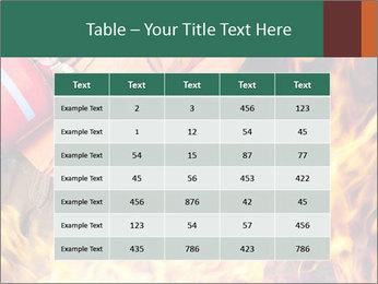 Fireman PowerPoint Template - Slide 55
