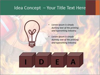 Fireman PowerPoint Template - Slide 80