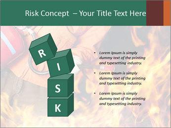 Fireman PowerPoint Template - Slide 81