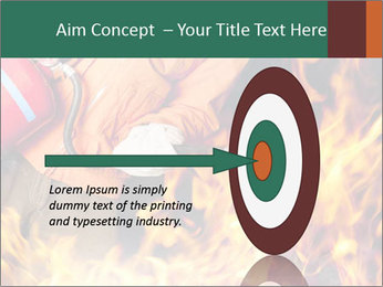 Fireman PowerPoint Template - Slide 83