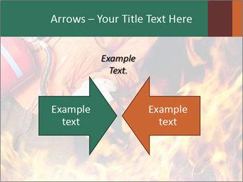 Fireman PowerPoint Template - Slide 90