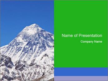 Mountain peak Modèles des présentations  PowerPoint