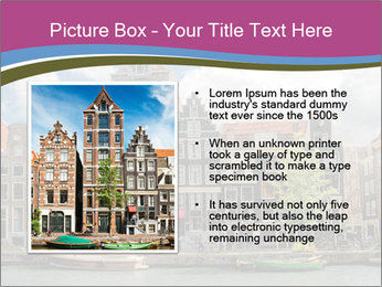 Amsterdam canals PowerPoint Template - Slide 13