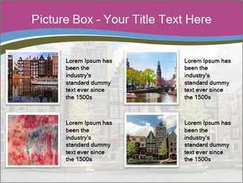 Amsterdam canals PowerPoint Template - Slide 14
