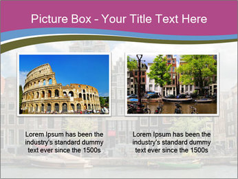 Amsterdam canals PowerPoint Template - Slide 18