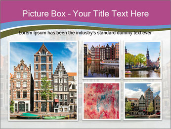Amsterdam canals PowerPoint Template - Slide 19
