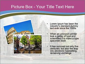 Amsterdam canals PowerPoint Template - Slide 20