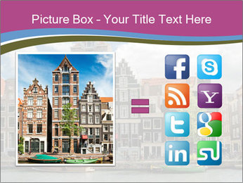 Amsterdam canals PowerPoint Template - Slide 21