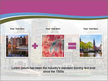 Amsterdam canals PowerPoint Templates - Slide 22