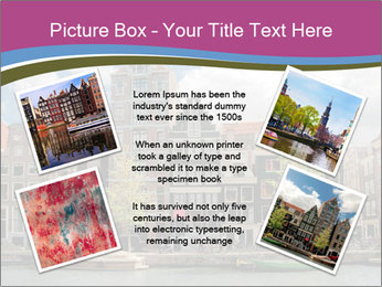 Amsterdam canals PowerPoint Templates - Slide 24