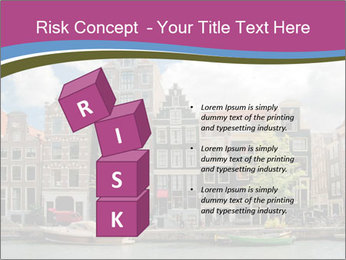 Amsterdam canals PowerPoint Template - Slide 81