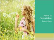 Blonde PowerPoint Template