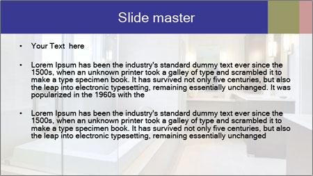 Luxury Master Bath PowerPoint Template - Slide 2
