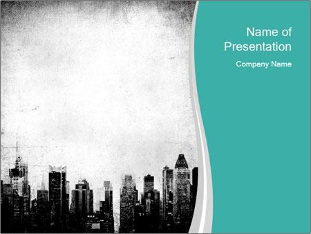 New york skyline PowerPoint Templates