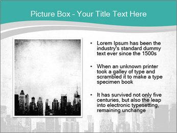 New york skyline PowerPoint Templates - Slide 13