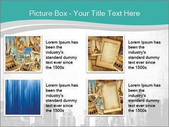New york skyline PowerPoint Templates - Slide 14