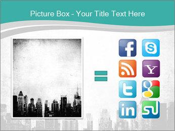 New york skyline PowerPoint Templates - Slide 21