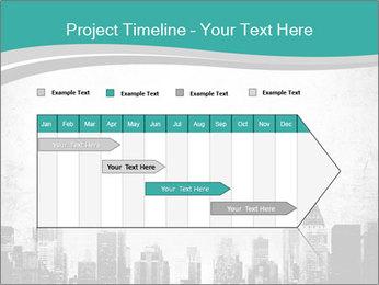 New york skyline PowerPoint Templates - Slide 25