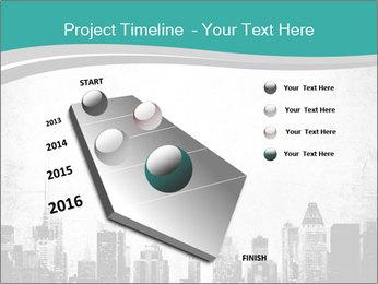 New york skyline PowerPoint Templates - Slide 26