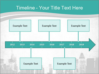 New york skyline PowerPoint Templates - Slide 28