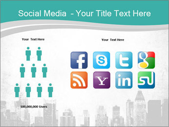 New york skyline PowerPoint Templates - Slide 5