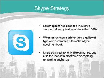 New york skyline PowerPoint Templates - Slide 8