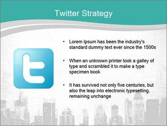 New york skyline PowerPoint Templates - Slide 9