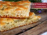 Focaccia bread PowerPoint Template
