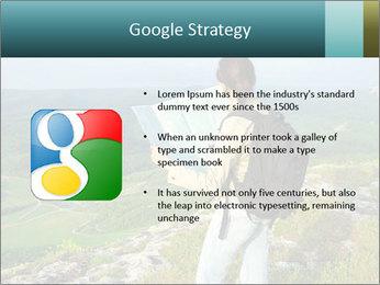 Girl tourist PowerPoint Template - Slide 10