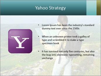 Girl tourist PowerPoint Template - Slide 11