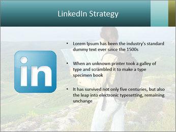 Girl tourist PowerPoint Template - Slide 12