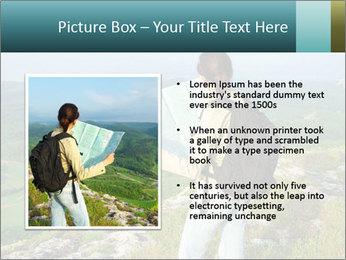 Girl tourist PowerPoint Template - Slide 13