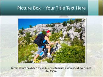 Girl tourist PowerPoint Template - Slide 16