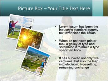 Girl tourist PowerPoint Template - Slide 17