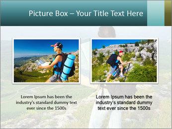 Girl tourist PowerPoint Template - Slide 18